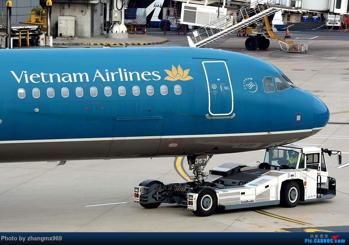Re:[原创]越南航空 AIRBUS A321 VN-A357 中国上海浦东国际机场