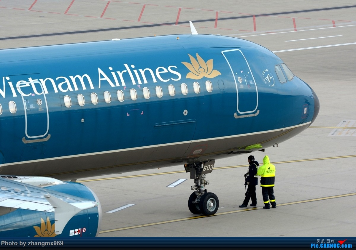 Re:[原创]越南航空 AIRBUS A321 VN-A603 中国上海浦东国际机场