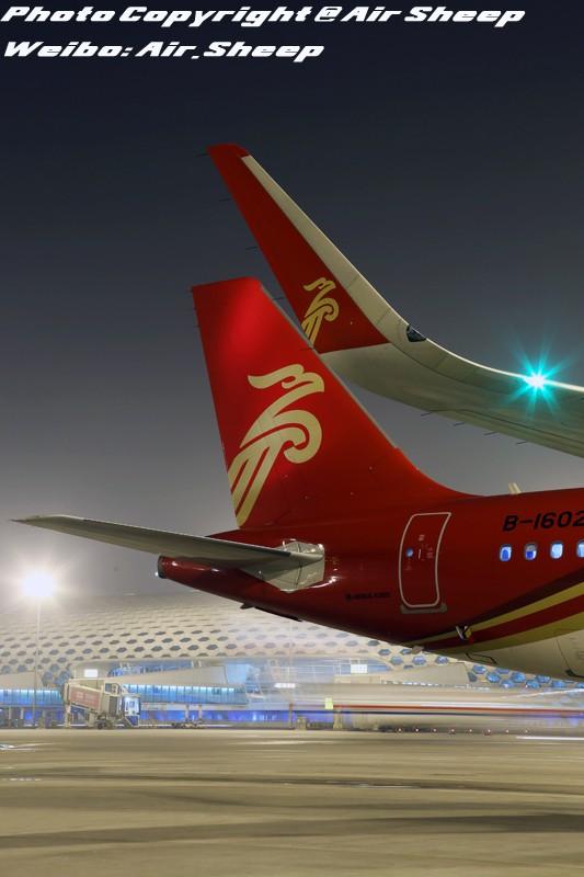 Re:[原创]装上鲨鳍小翼的深圳航空空中客车A320更为帅气! AIRBUS A320-200 B-1602 中国深圳宝安国际机场
