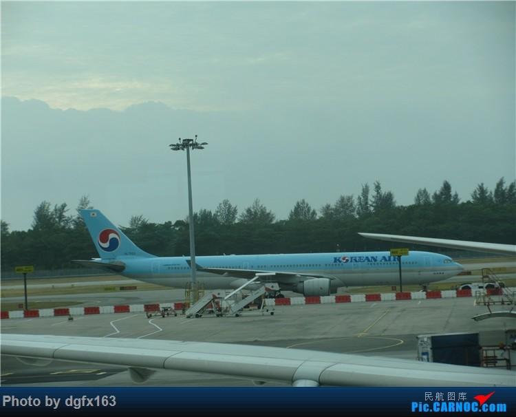 Re:[原创]【dgfx163的游记(4)】 中国国际航空 A330-300 新加坡SIN-北京PEK 回国,坐特价的国际航空! AIRBUS A330-300 HL7553 新加坡樟宜机场