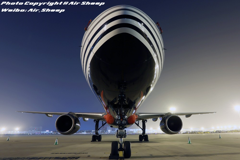 Re:[原创]夜拍顺丰航空波音757 BOEING 757-200 B-2828 中国深圳宝安国际机场