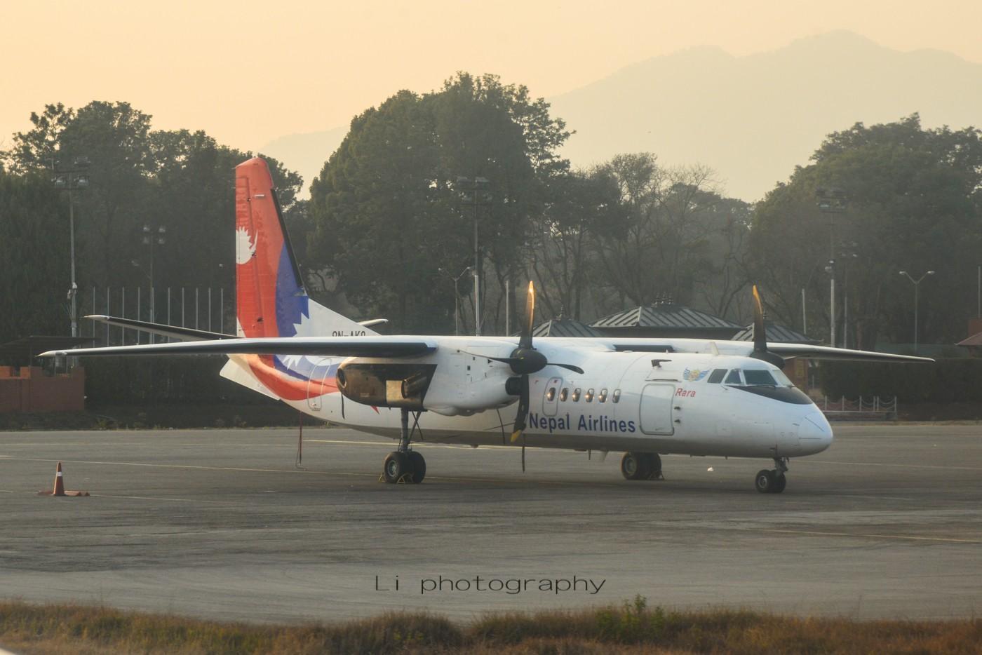 Re:[原创]尼泊尔拍机第一发——加德满都布里特万机场,各种奇货乱入~ MA60 9N-AKQ 尼泊尔加德满都机场