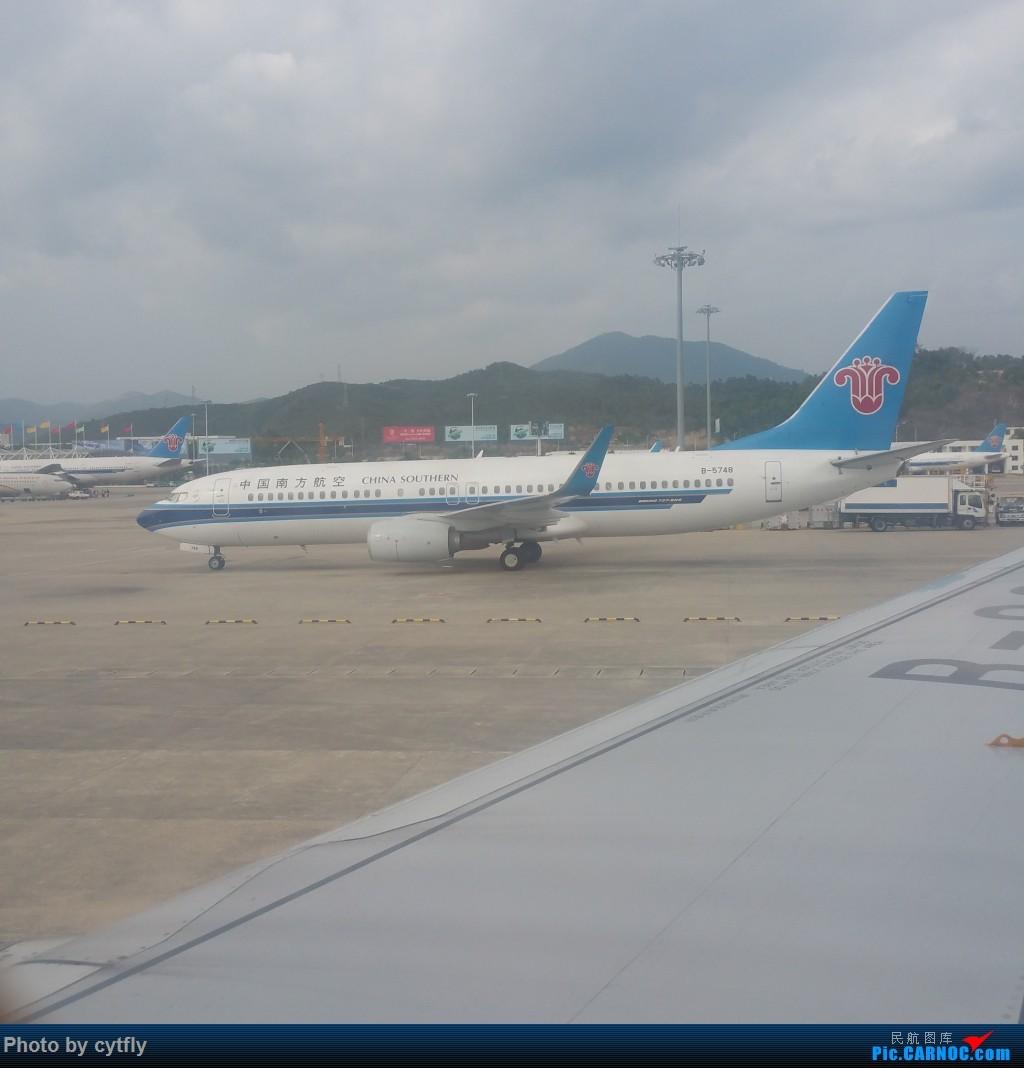 Re:[原创]SJW-SYX-PEK 三亚Holiday BOEING 737-800 B-5748 中国三亚凤凰国际机场