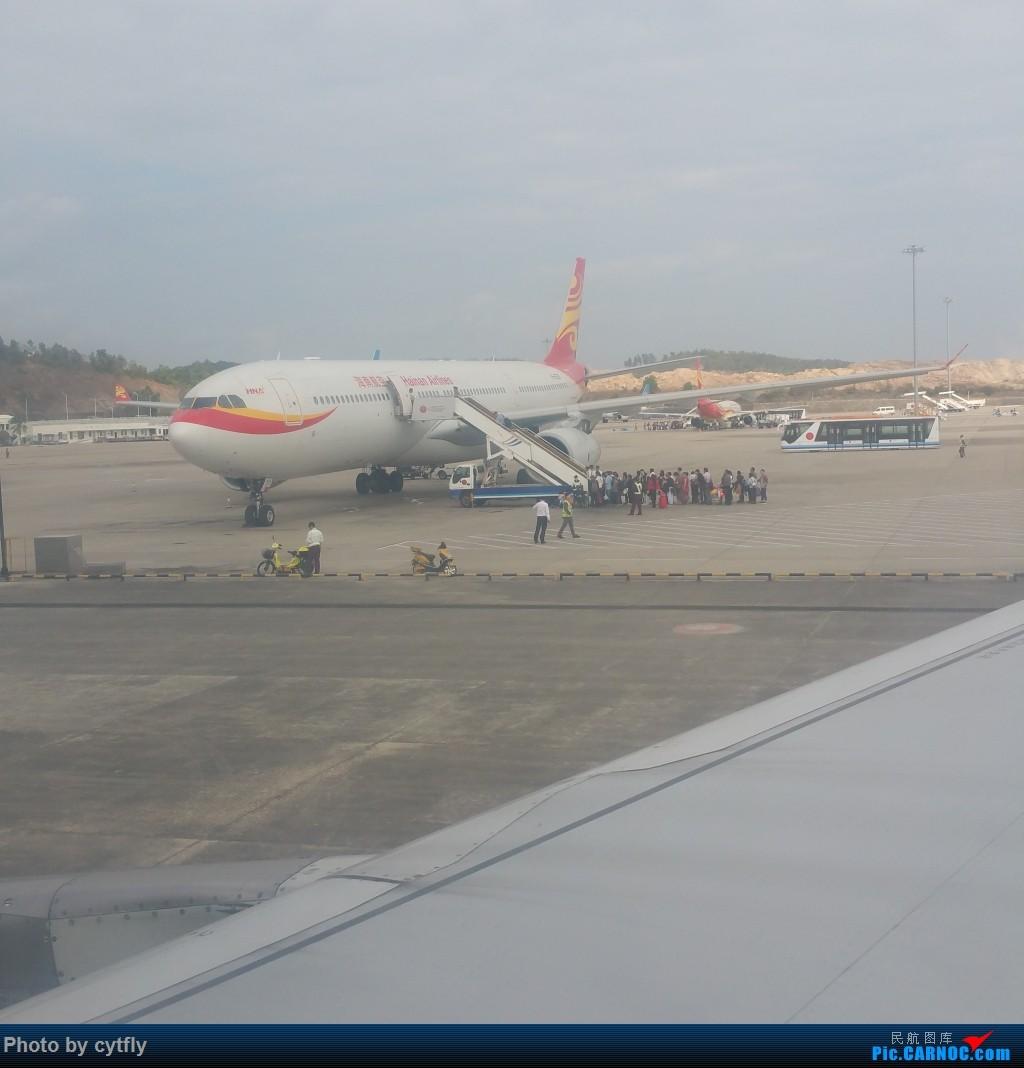Re:[原创]SJW-SYX-PEK 三亚Holiday AIRBUS A330  三亚凤凰国际机场