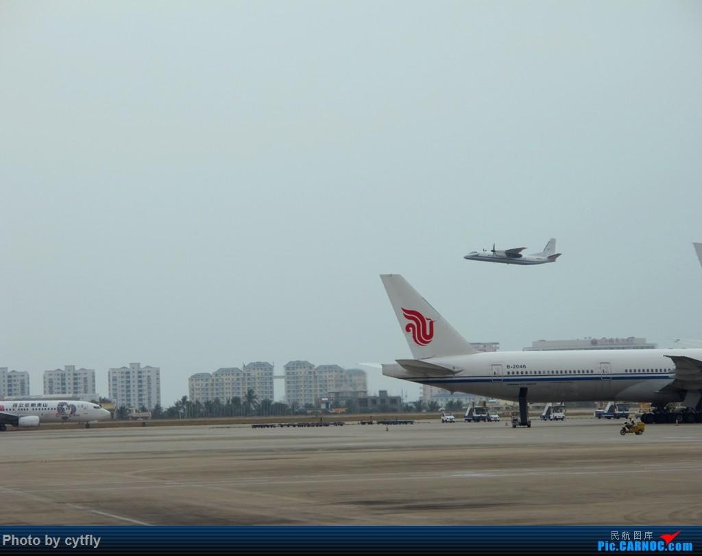 Re:[原创]SJW-SYX-PEK 三亚Holiday XIAN AIRCRAFT MA 60  中国三亚凤凰国际机场