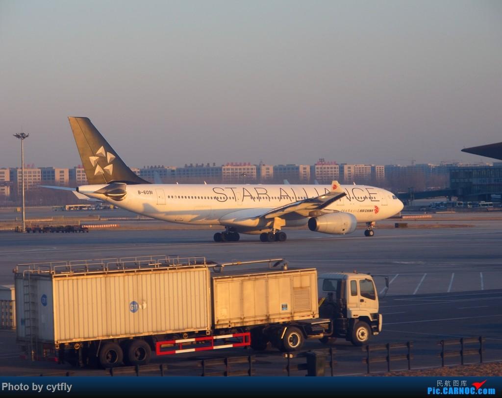 Re:[原创]SJW-SYX-PEK 三亚Holiday AIRBUS A330-200 B-6091 中国北京首都国际机场