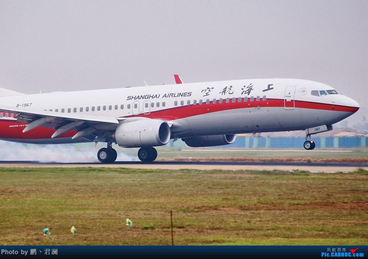 Re:[原创]【海南飞友会】2015,我们在一起,聚会花絮报告帖,欢迎各会员跟帖 BOEING 737-800 B-1967 中国海口美兰国际机场