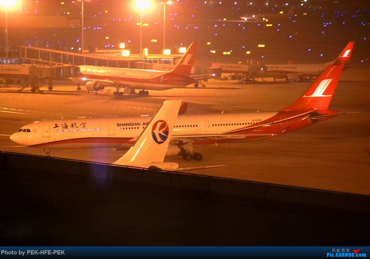 Re:[原创][Autumnkwok]虹桥机场中航泊悦酒店夜拍 AIRBUS A330-300 B-6096 sha