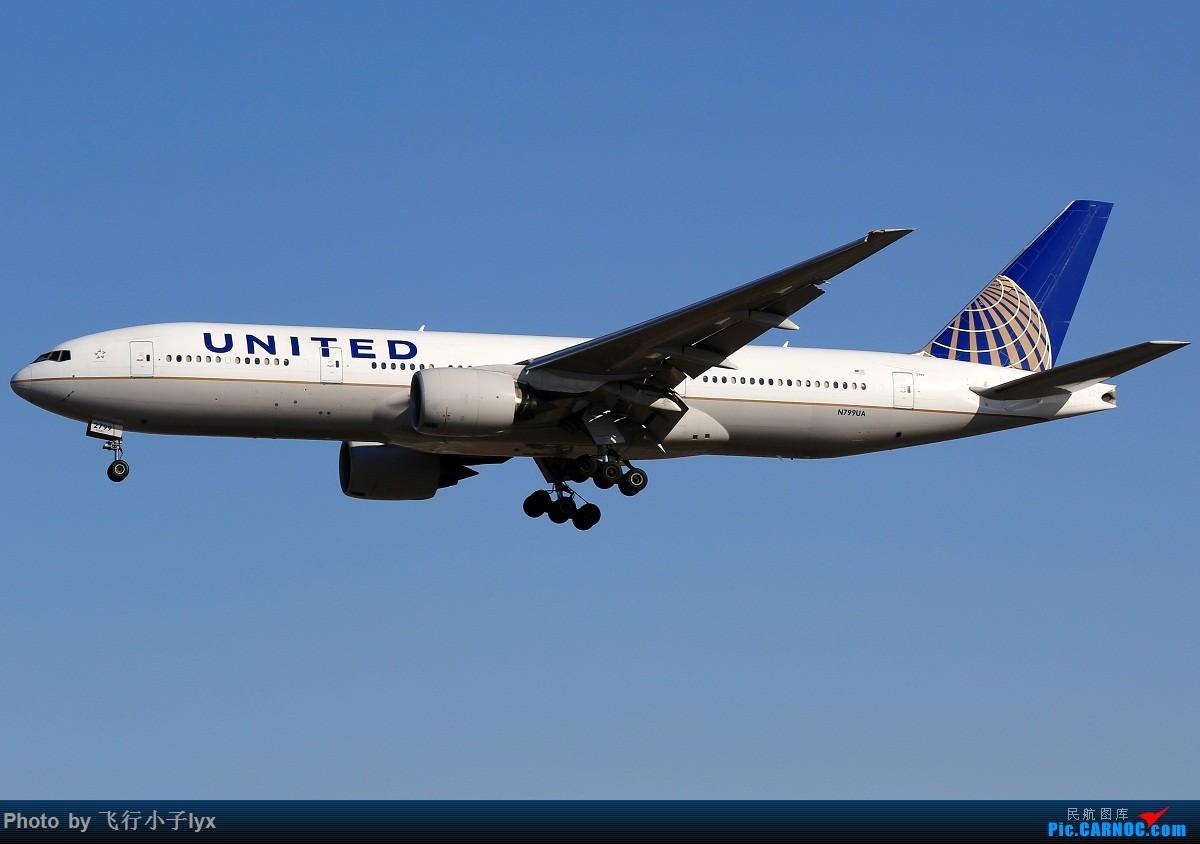 Re:[原创]数月没去机场,为了枫叶国787呆了一下午【43P】 BOEING 777-200ER N799UA 中国北京首都国际机场