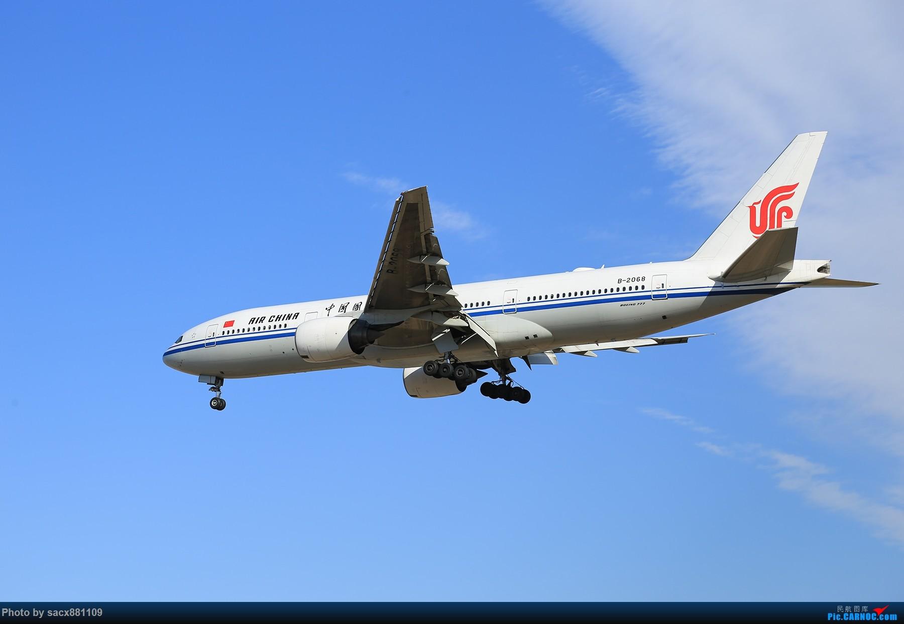 [原创]~~~~~~~~~~~~Boeing777-200~~~~~~~~~~~~~~ BOEING 777-200 B-2068 中国北京首都国际机场
