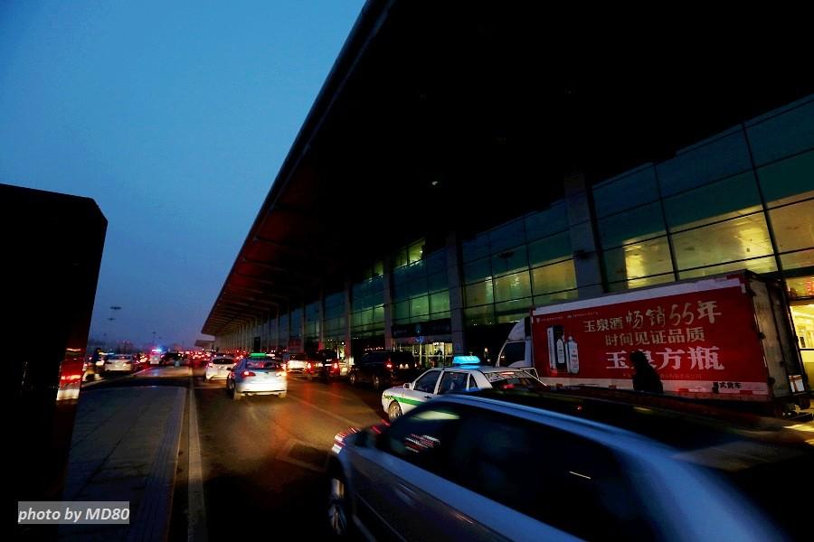 [原创][80飞行游记]大连-济南-兰州-济南-大连9小时飞行游记    中国大连周水子国际机场