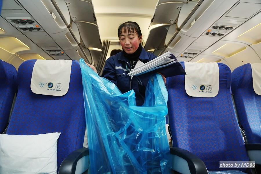 Re:[原创][80飞行游记]大连-济南-兰州-济南-大连9小时飞行游记     地面服务