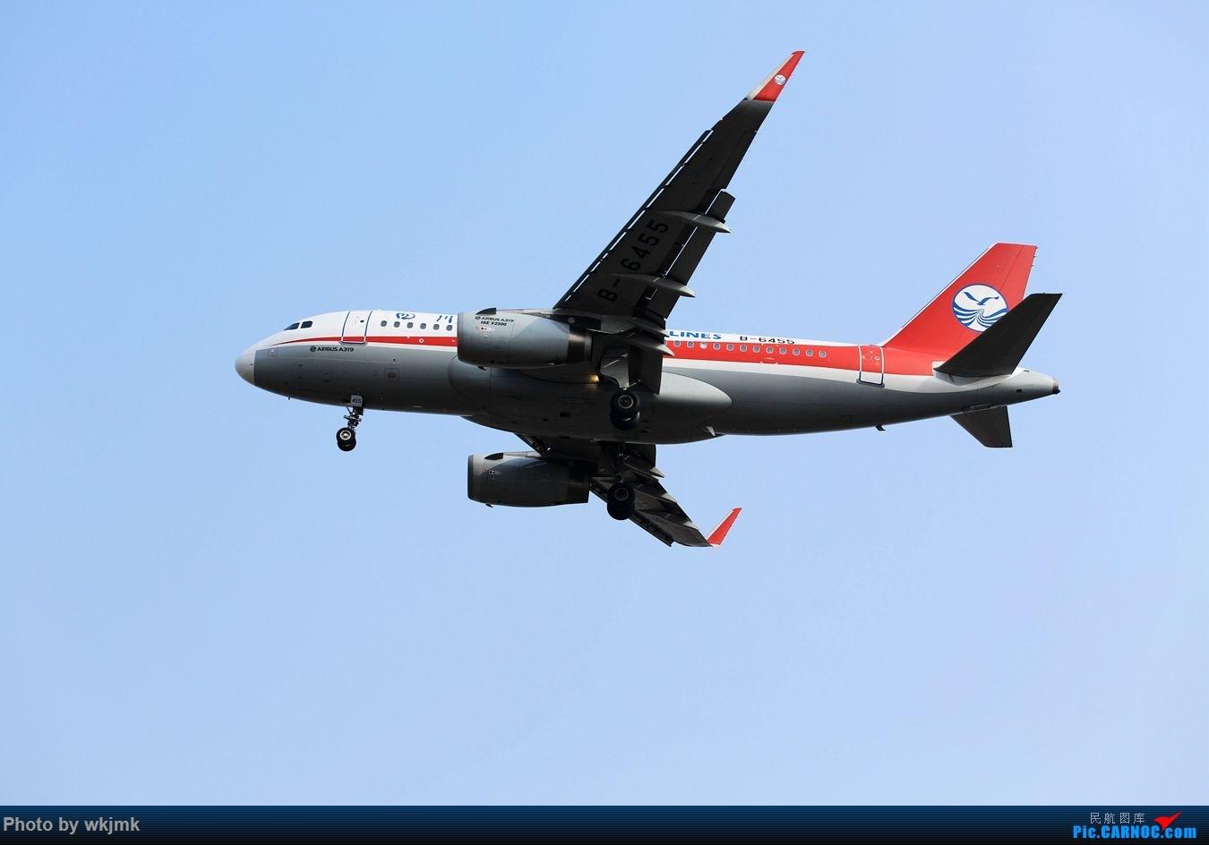Re:[原创]CKG15年春运系列 AIRBUS A319-100 B-6455 中国重庆江北国际机场