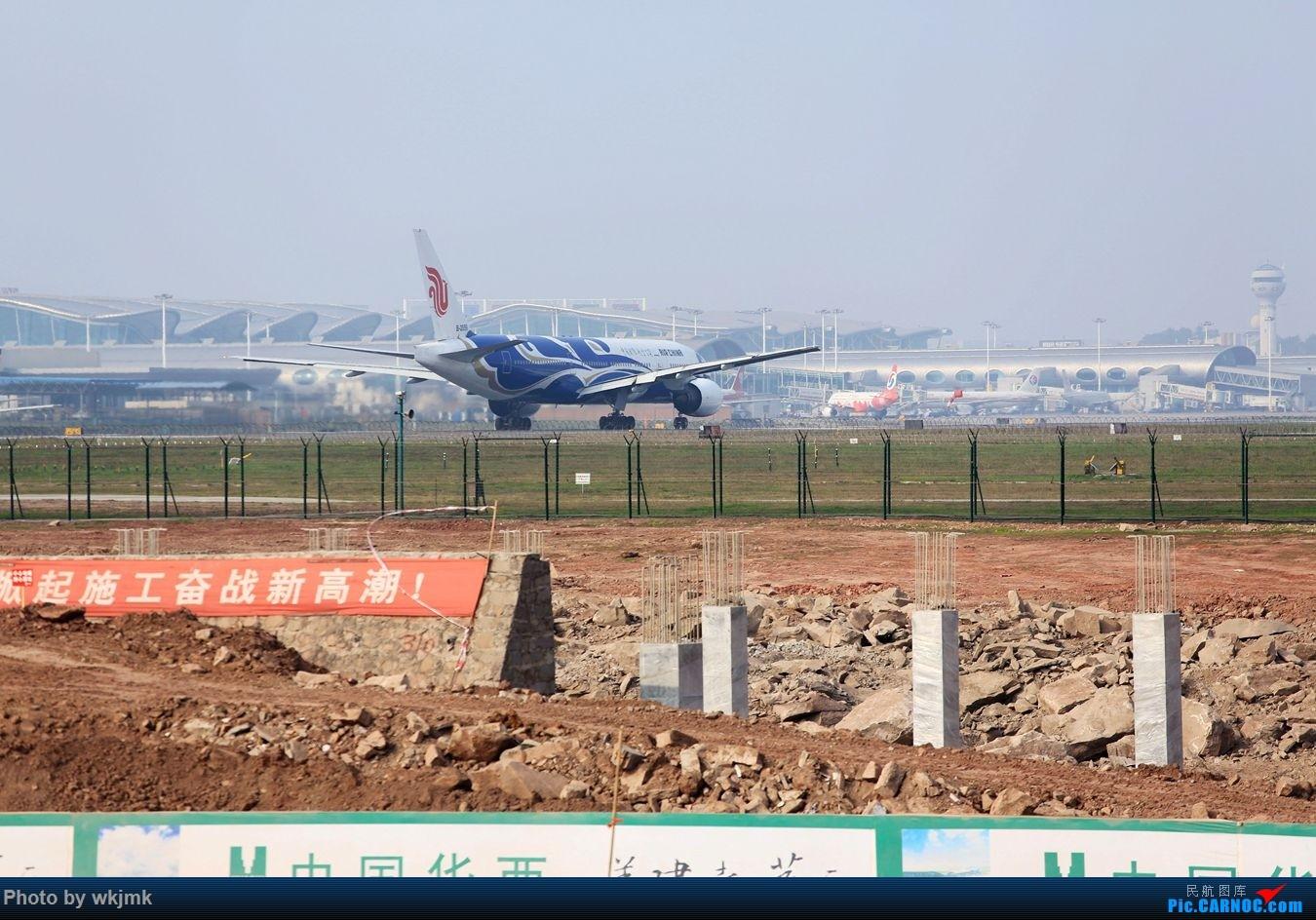 Re:[原创]CKG15年春运系列 BOEING 777-200 B-2059 中国重庆江北国际机场