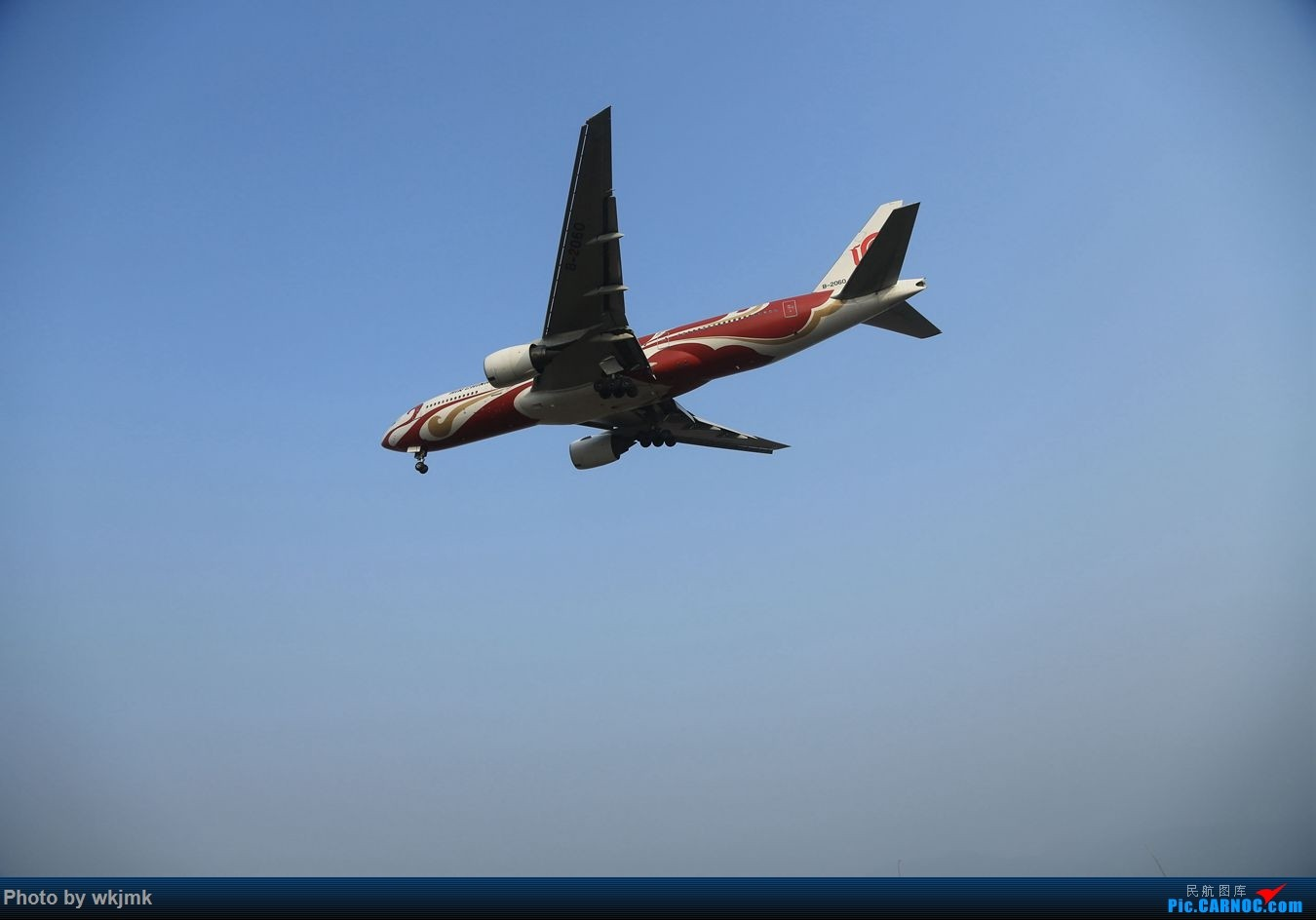 Re:[原创]CKG15年春运系列 BOEING 777-200 B-2060 中国重庆江北国际机场