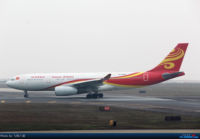 Re:[原创]CKG2015春运大戏开幕了(各种重型机纷纷登场,大家使劲砸飞机哈) AIRBUS A330-200 B-5955 重庆江北国际机场
