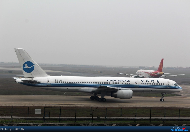 Re:[原创]CKG2015春运大戏开幕了(各种重型机纷纷登场,大家使劲砸飞机哈) BOEING 757-200 B-2848 重庆江北国际机场