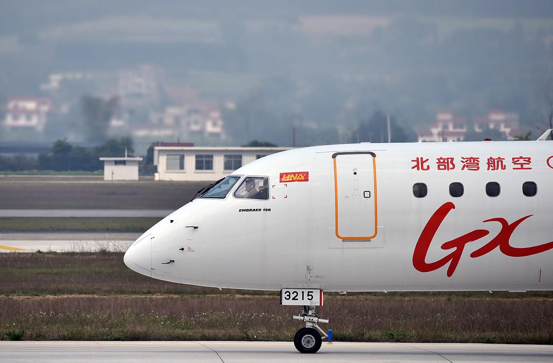 Re:[原创]2.17WUXU北部湾航空起飞 E190  南宁吴圩机场