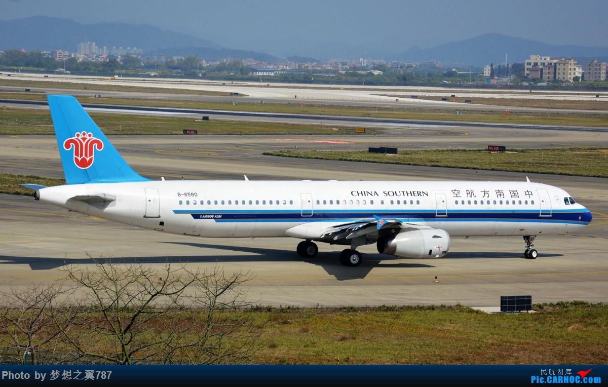 Re:[原创]各位飞友新年快乐!! AIRBUS A321-200 B-6580 中国广州白云国际机场