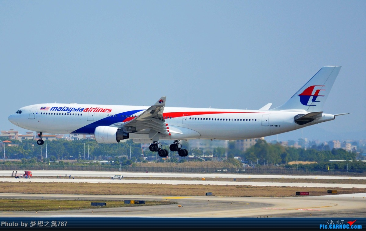 Re:[原创]各位飞友新年快乐!! AIRBUS A330-300 9M-MTK 中国广州白云国际机场