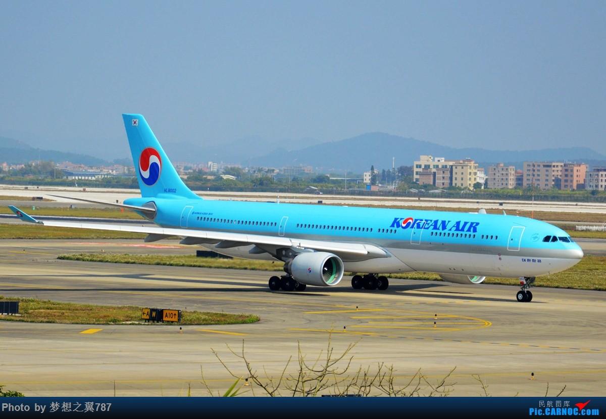 Re:[原创]各位飞友新年快乐!! AIRBUS A330-300 HL8002 中国广州白云国际机场
