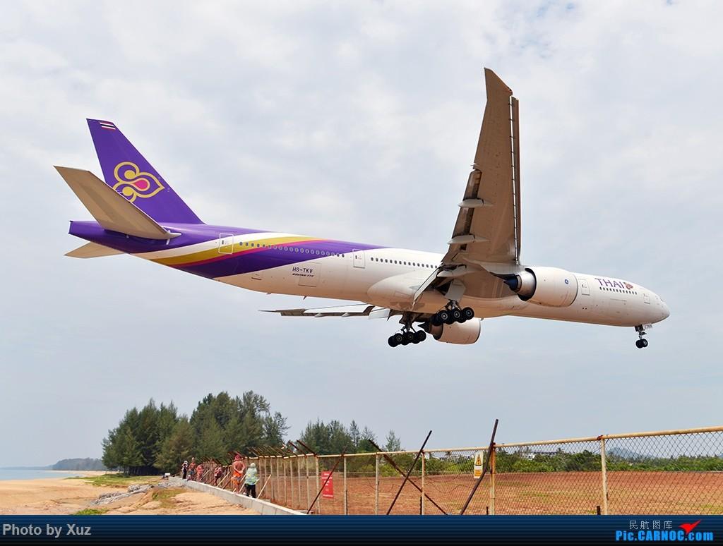 Re:[原创]普吉机场拍机 BOEING 777-300 HS-TKY 泰国普吉机场