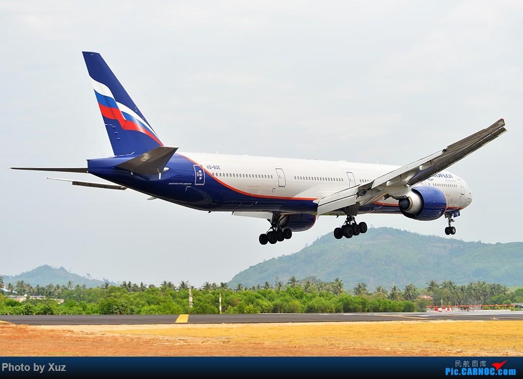 Re:[原创]普吉机场拍机 BOEING 777-300ER VQ-BQE 泰国普吉机场