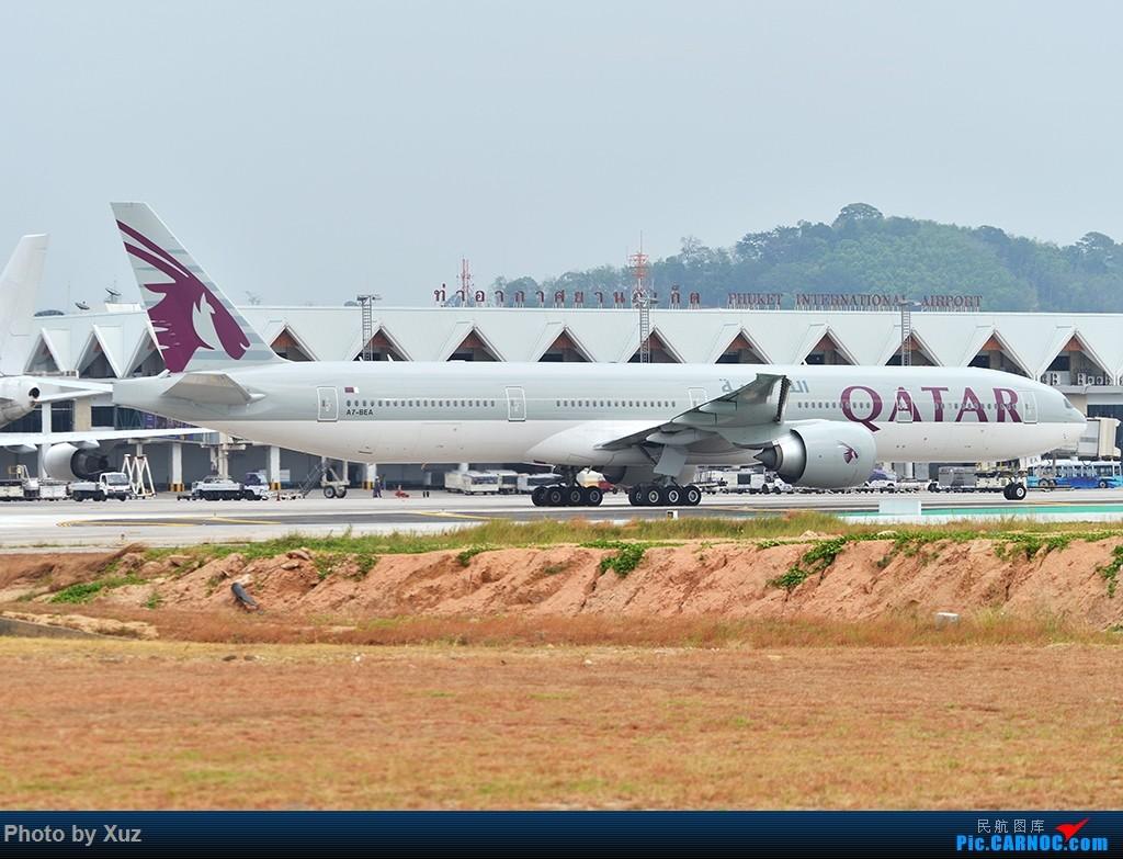Re:[原创]普吉机场拍机 BOEING 777-300ER A7-BEA 泰国普吉机场