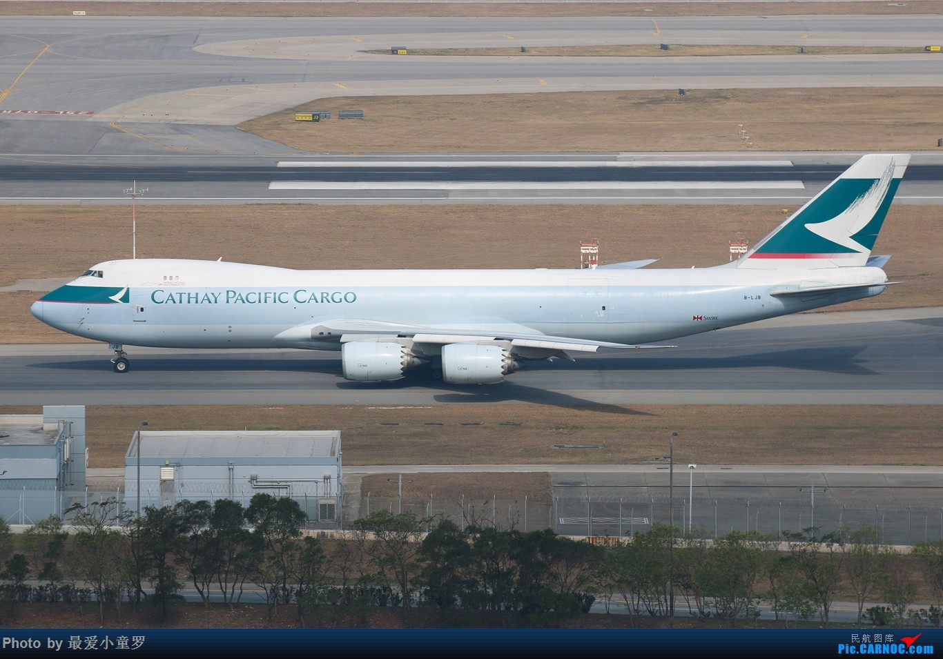 Re:[原创]羊年第一帖——1月25日香港沙螺湾拍机篇之波音747 BOEING 747-8I B-LJB 中国香港赤鱲角国际机场