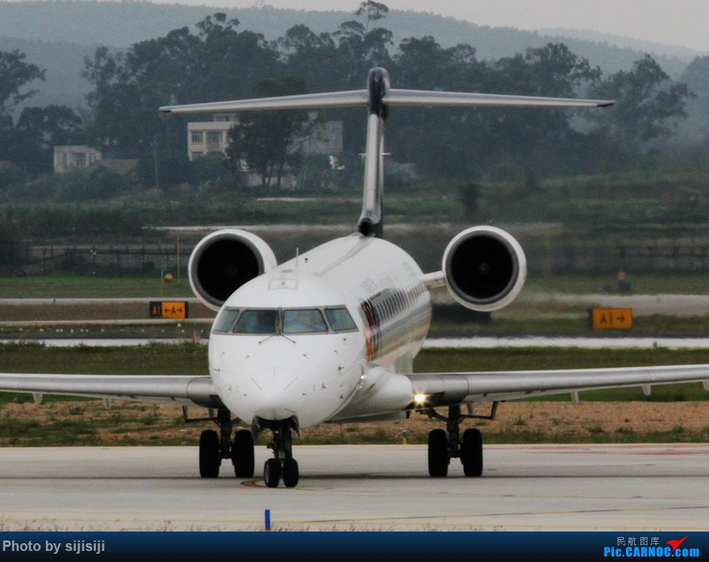 Re:[原创]【NNG飞友】年初四NNG新炮口拍机,祝各位飞友羊年大吉! BOMBARDIER CRJ-700 B-3080 中国南宁吴圩国际机场
