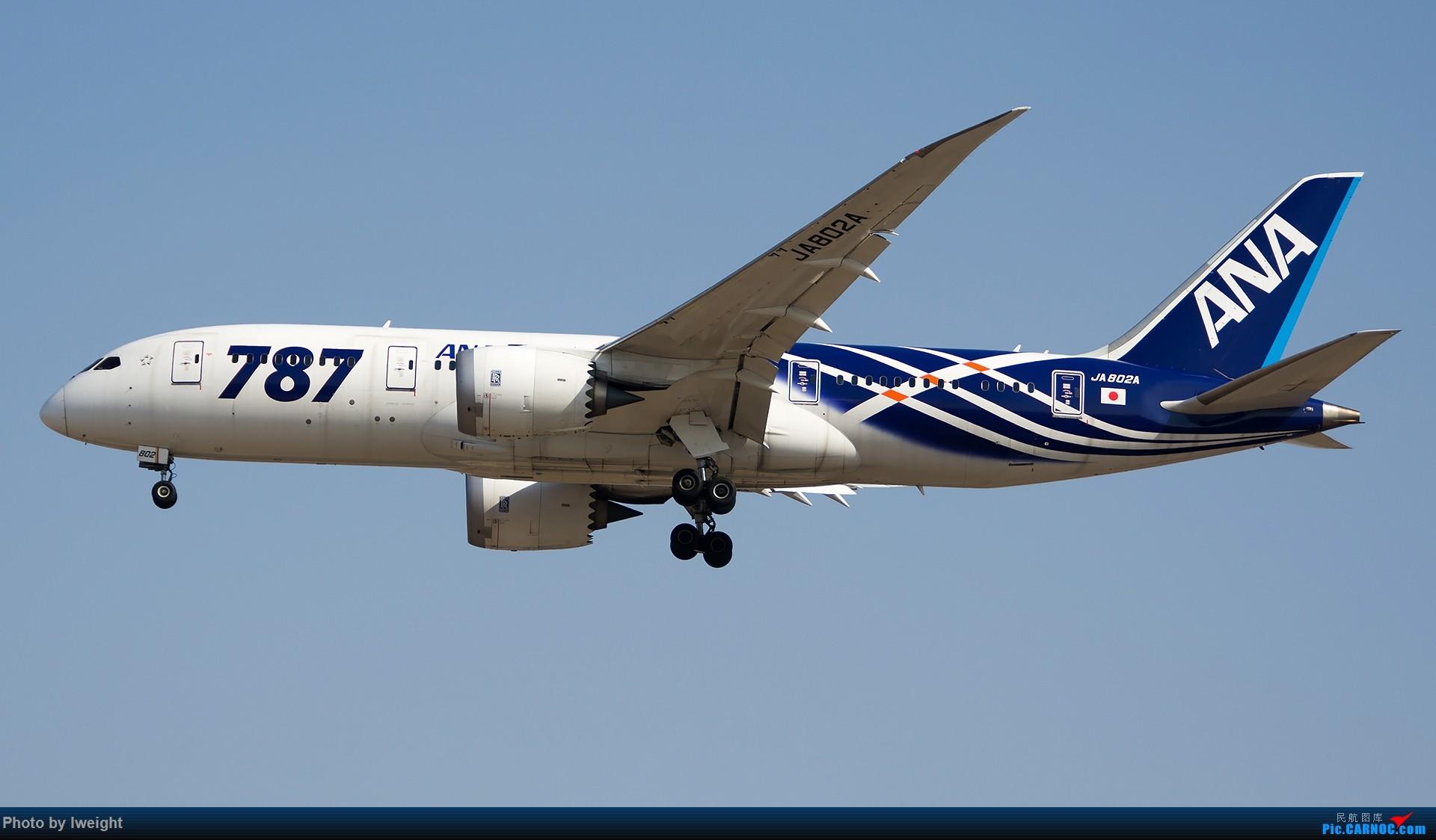 Re:[原创]羊年第一次拍机,首都机场[2015-2-23] BOEING 787-8 JA802A 中国北京首都国际机场