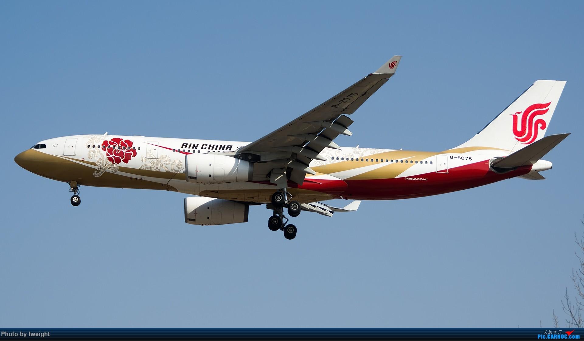 Re:[原创]羊年第一次拍机,首都机场[2015-2-23] AIRBUS A330-200 B-6075 中国北京首都国际机场