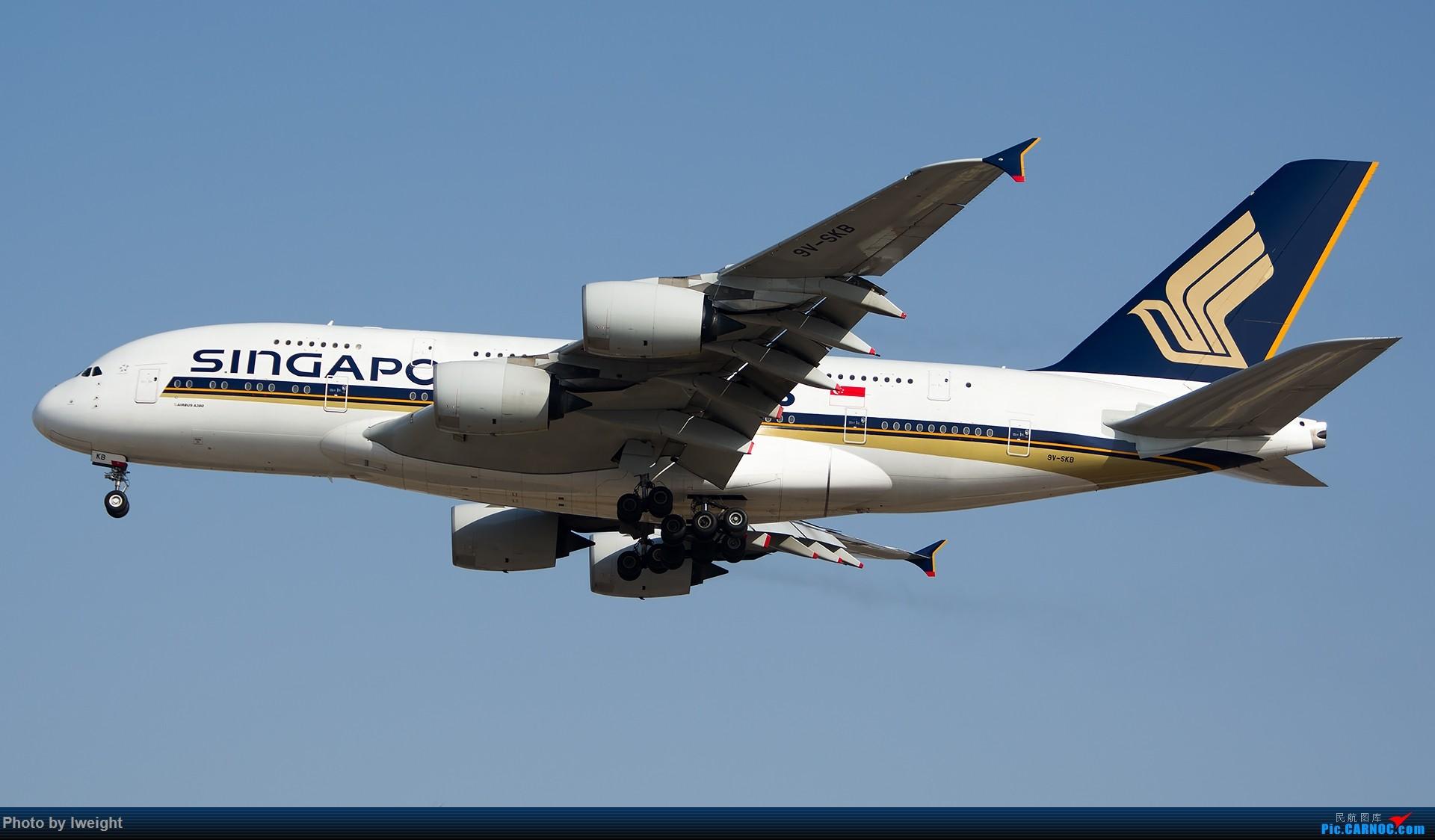 Re:[原创]羊年第一次拍机,首都机场[2015-2-23] AIRBUS A380 9V-SKB 中国北京首都国际机场