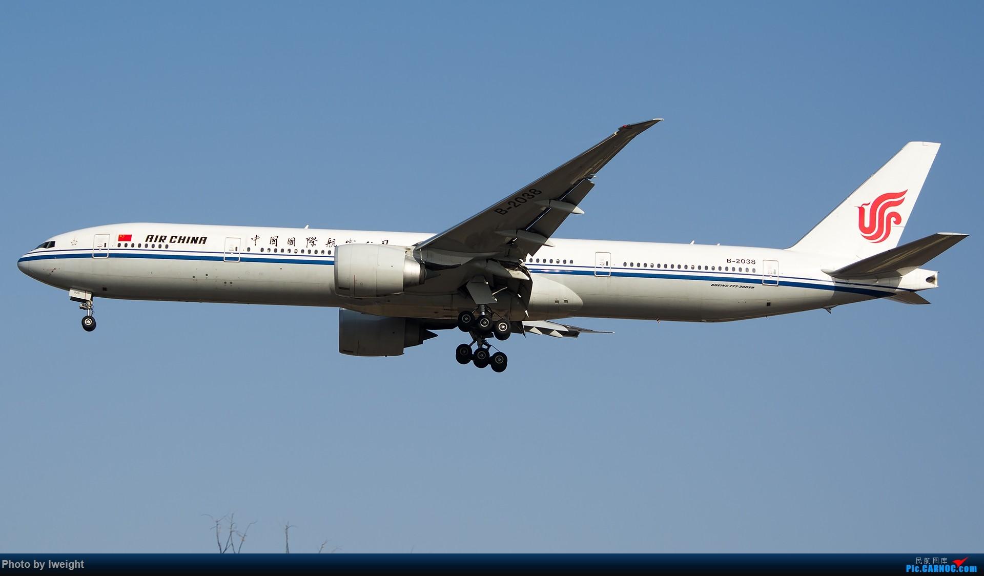 Re:[原创]羊年第一次拍机,首都机场[2015-2-23] BOEING 777-300ER B-2038 中国北京首都国际机场