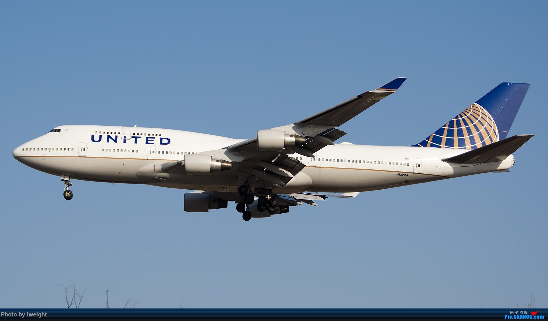 Re:[原创]羊年第一次拍机,首都机场[2015-2-23] BOEING 747-400 N120UA 中国北京首都国际机场