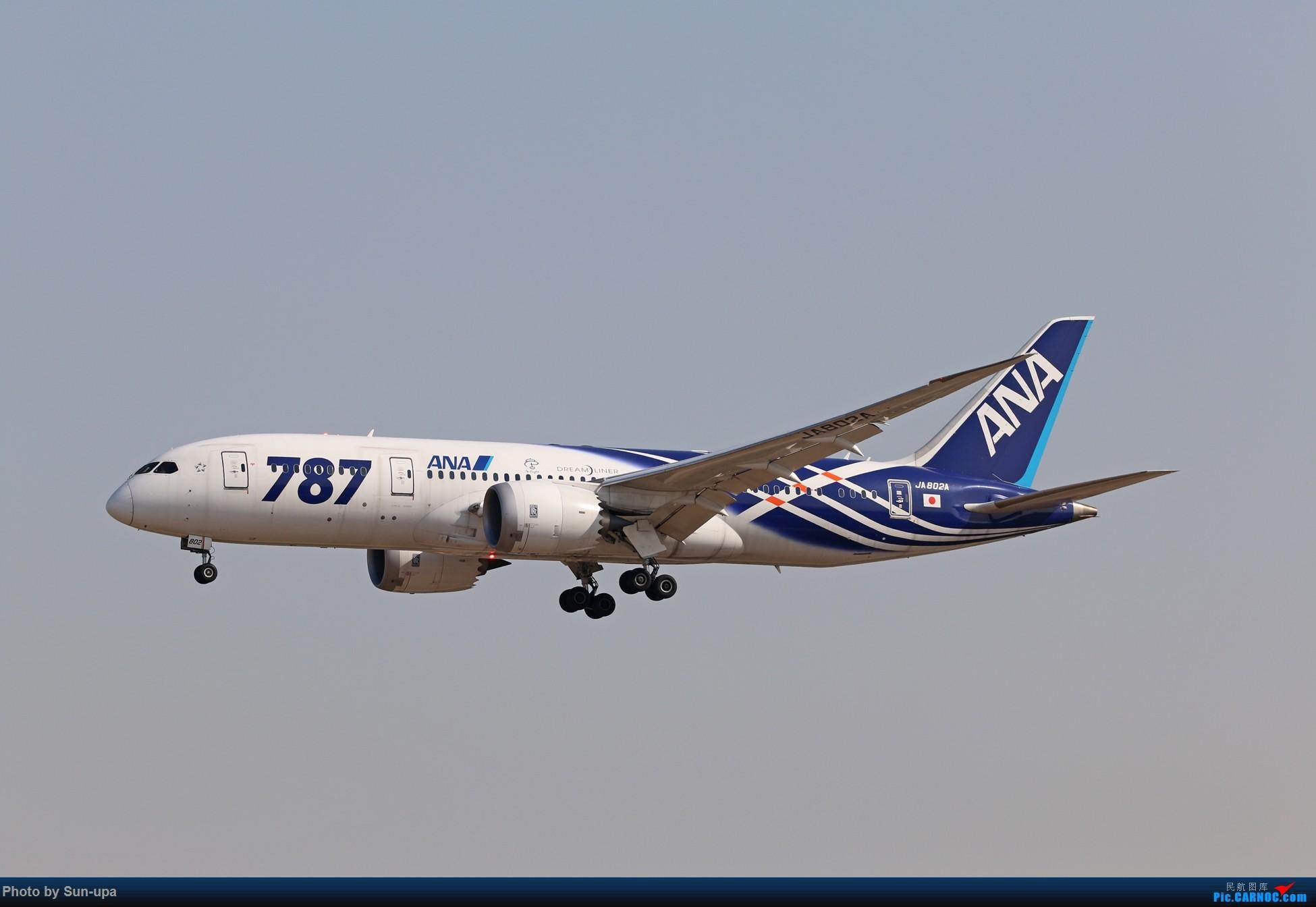 Re:[原创]2014.2.23 PEK JA802A落地组图 BOEING 787 JA802A 中国北京首都国际机场