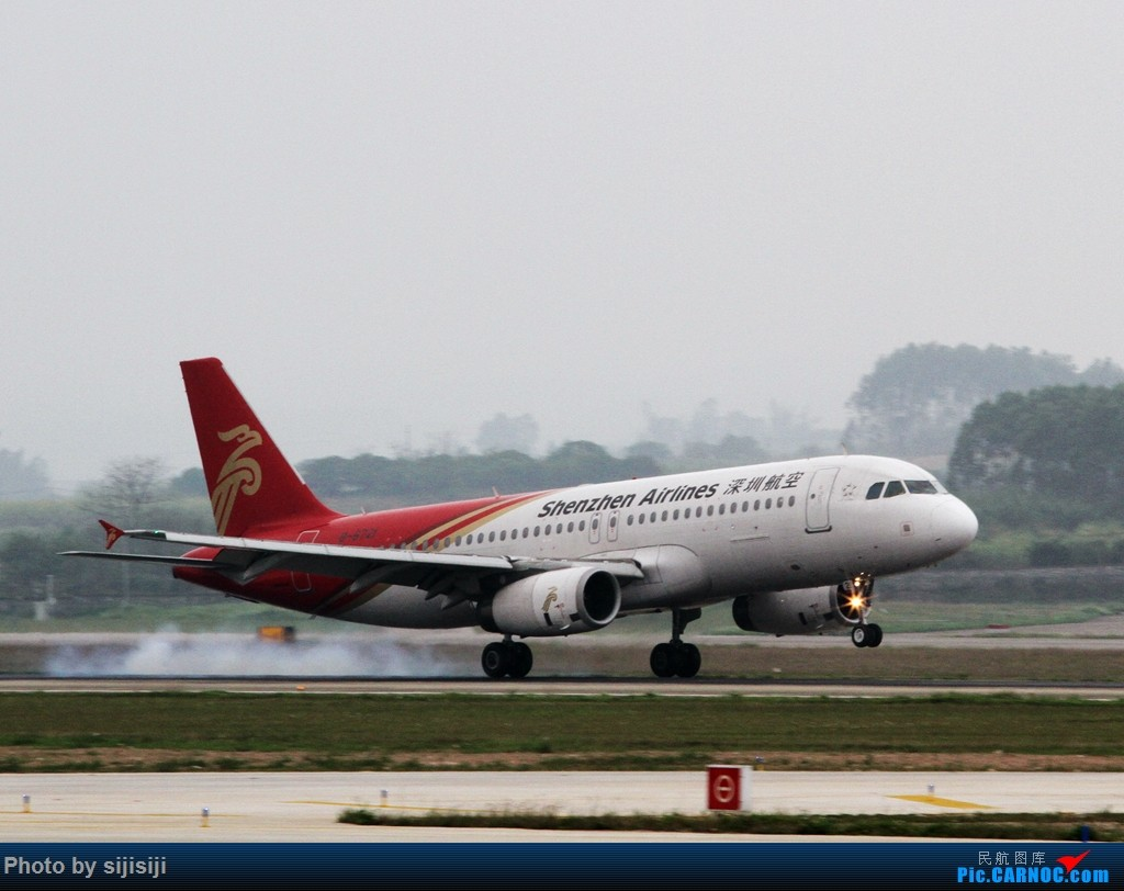 Re:[原创]【NNG飞友】年初四NNG新炮口拍机,祝各位飞友羊年大吉! AIRBUS A320-200 B-6721 中国南宁吴圩国际机场