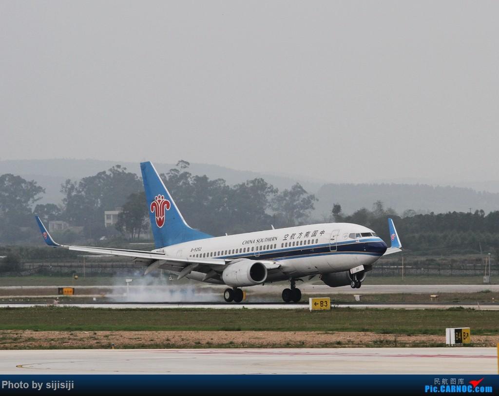 Re:[原创]【NNG飞友】年初四NNG新炮口拍机,祝各位飞友羊年大吉! BOEING 737-700 B-5252 中国南宁吴圩国际机场