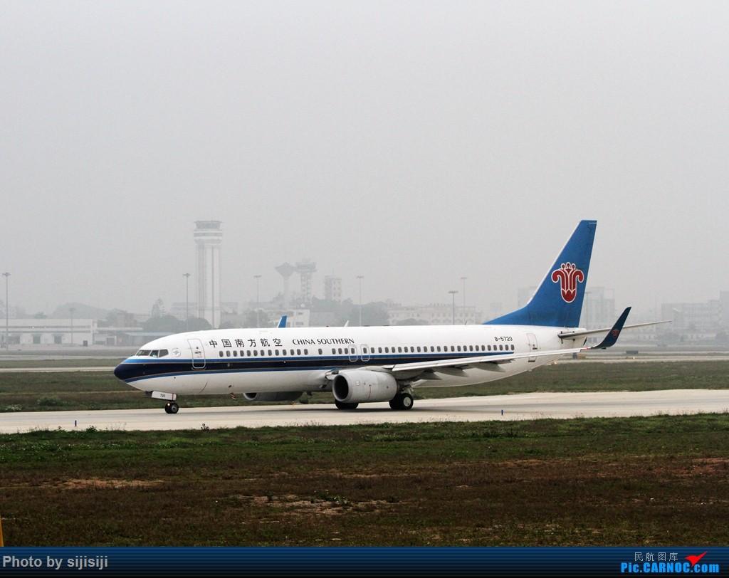 Re:[原创]【NNG飞友】年初四NNG新炮口拍机,祝各位飞友羊年大吉! BOEING 737-800 B-5720 中国南宁吴圩国际机场
