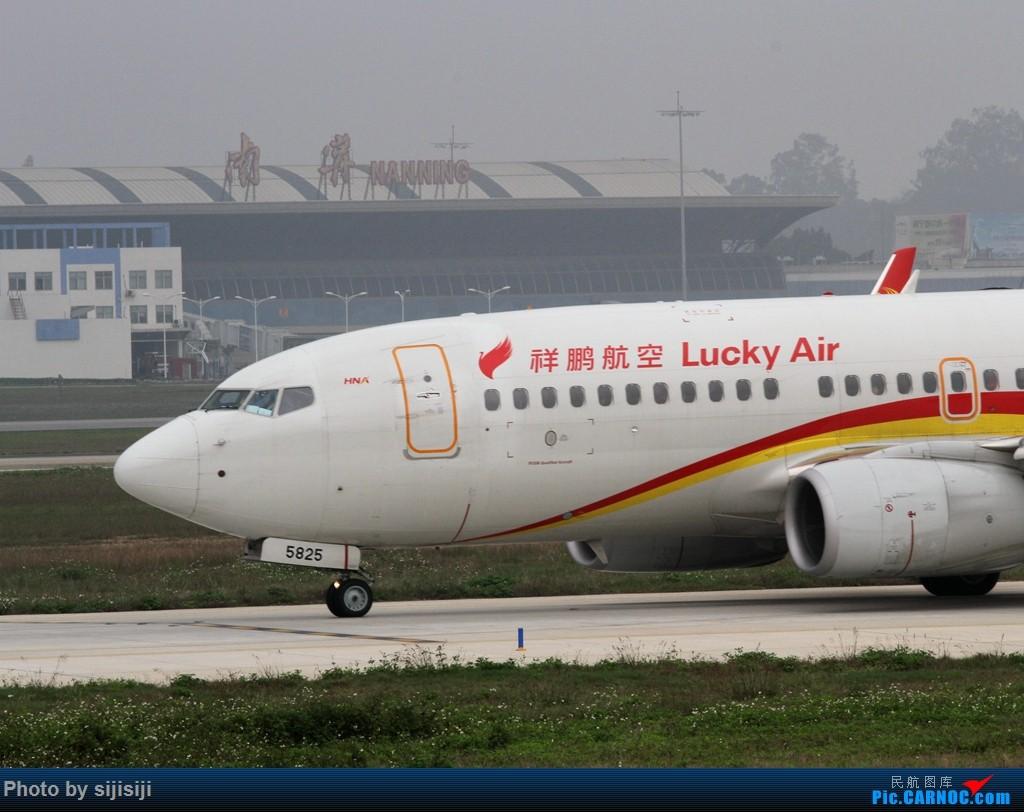 Re:[原创]【NNG飞友】年初四NNG新炮口拍机,祝各位飞友羊年大吉! BOEING 737-700 B-5825 中国南宁吴圩国际机场