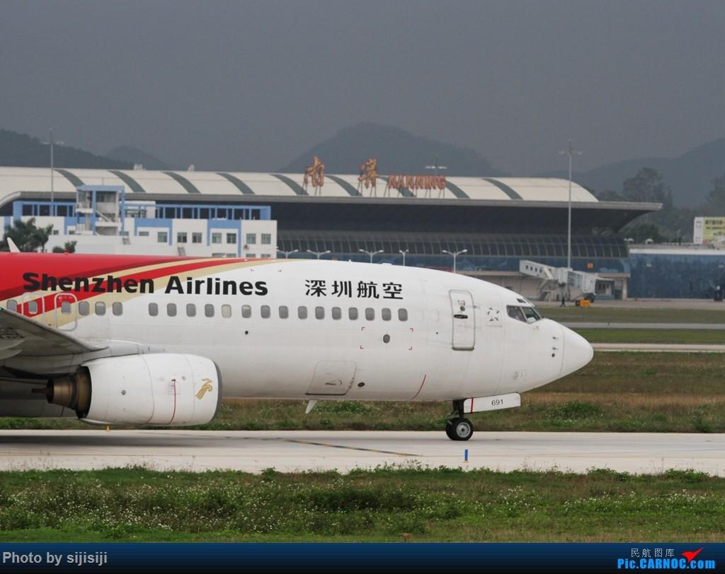 Re:[原创]【NNG飞友】年初四NNG新炮口拍机,祝各位飞友羊年大吉! BOEING 737-800 B-2691 中国南宁吴圩国际机场