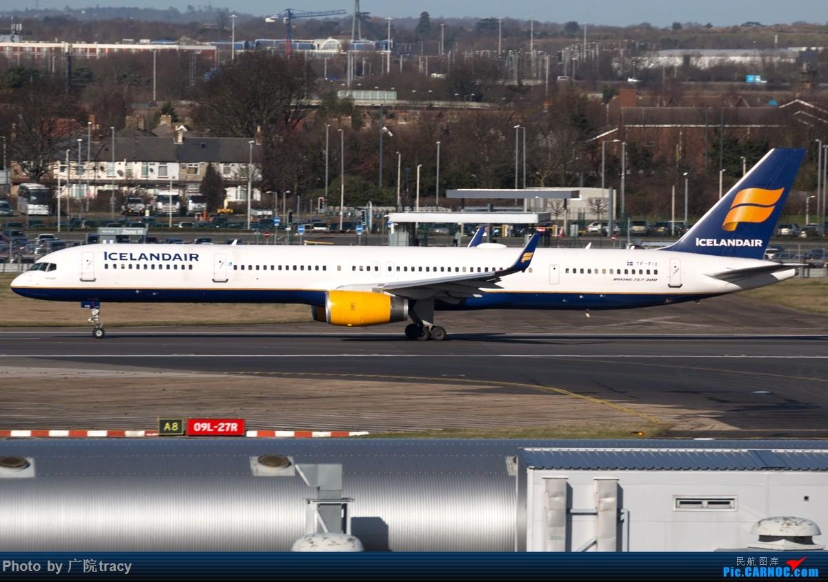 Re:[原创]★ ★ ★ ★ ★伦敦希斯罗机场一组起飞图 让你大饱眼福★ ★ ★ ★ ★ BOEING 757-300 TF-FIX 伦敦希斯罗机场