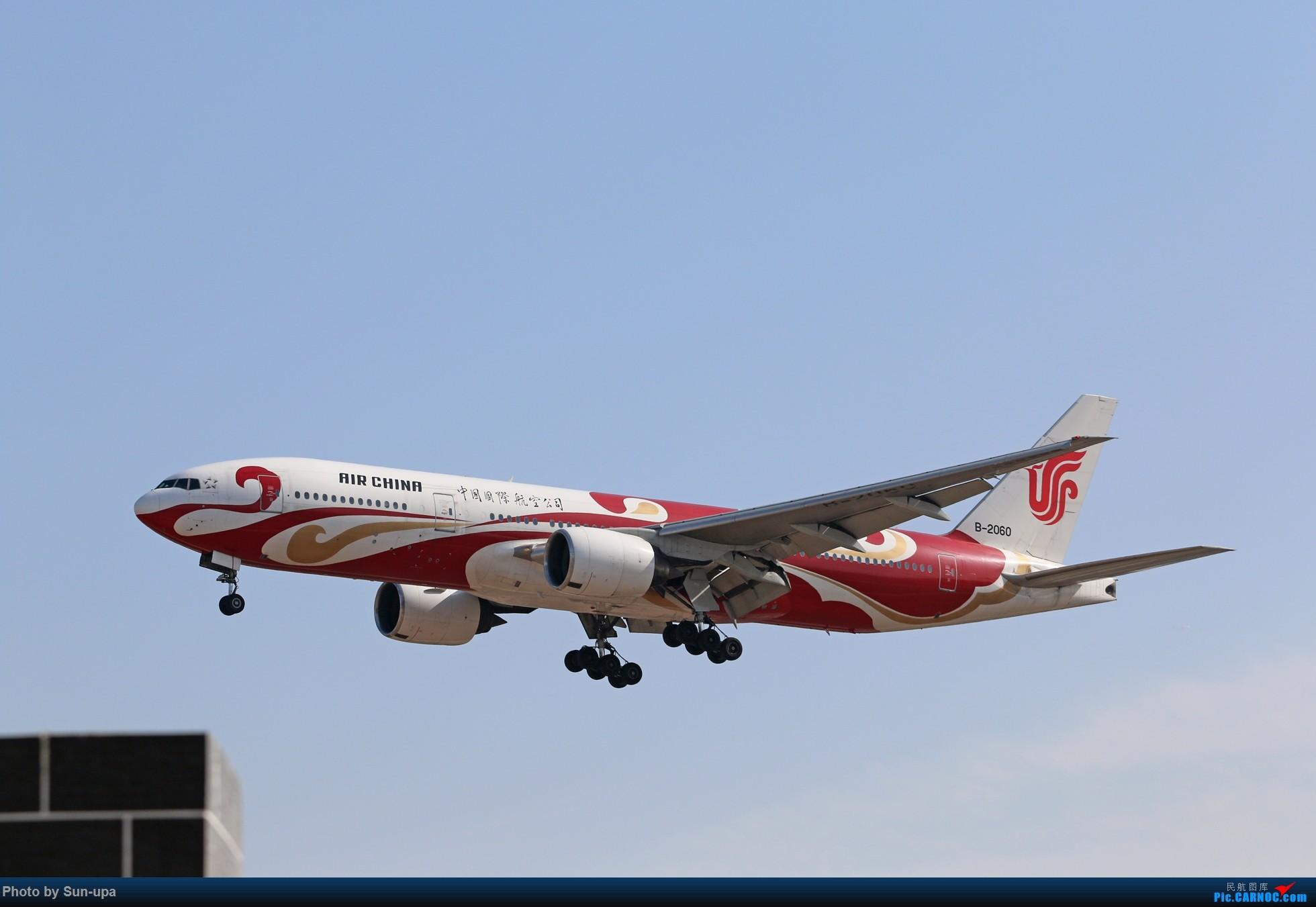 Re:[原创]两张图 B-2060红祥云 ZBAA BOEING 777-200 B-2060 中国北京首都国际机场