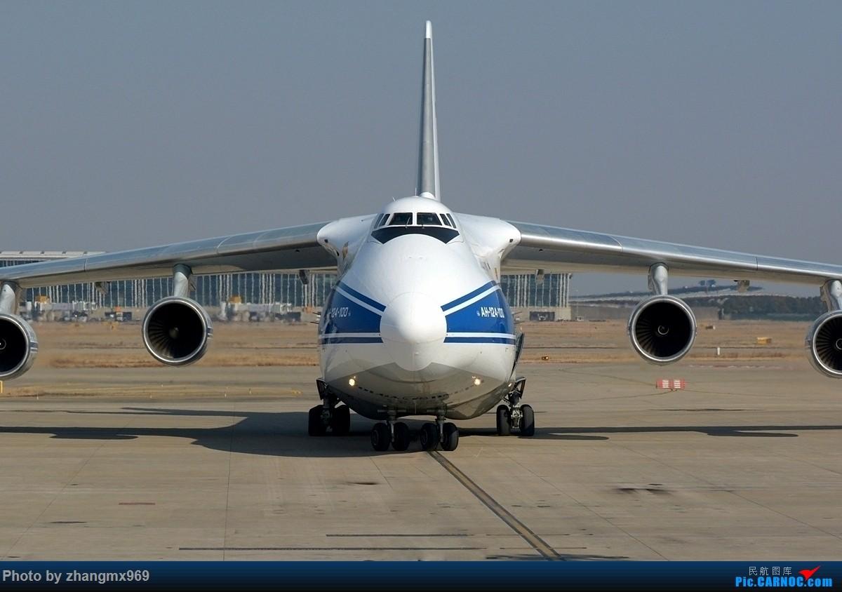 [原创]大鸭梨——AN-124 ANTONOV AN-124 RA-82045 中国上海浦东国际机场