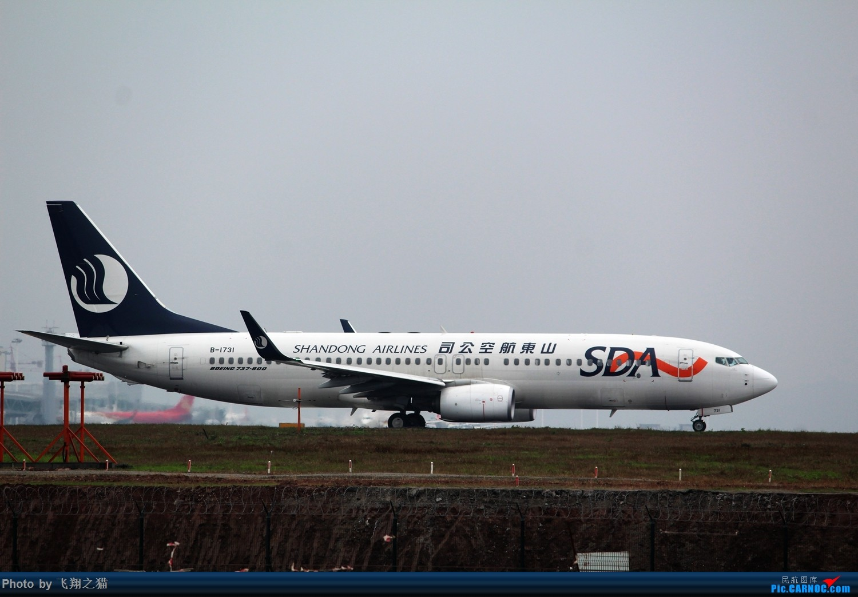 Re:[原创]2015CKG春运拍机(春运拍机乐翻天,过瘾) BOEING 737-800 B-1731 重庆江北国际机场