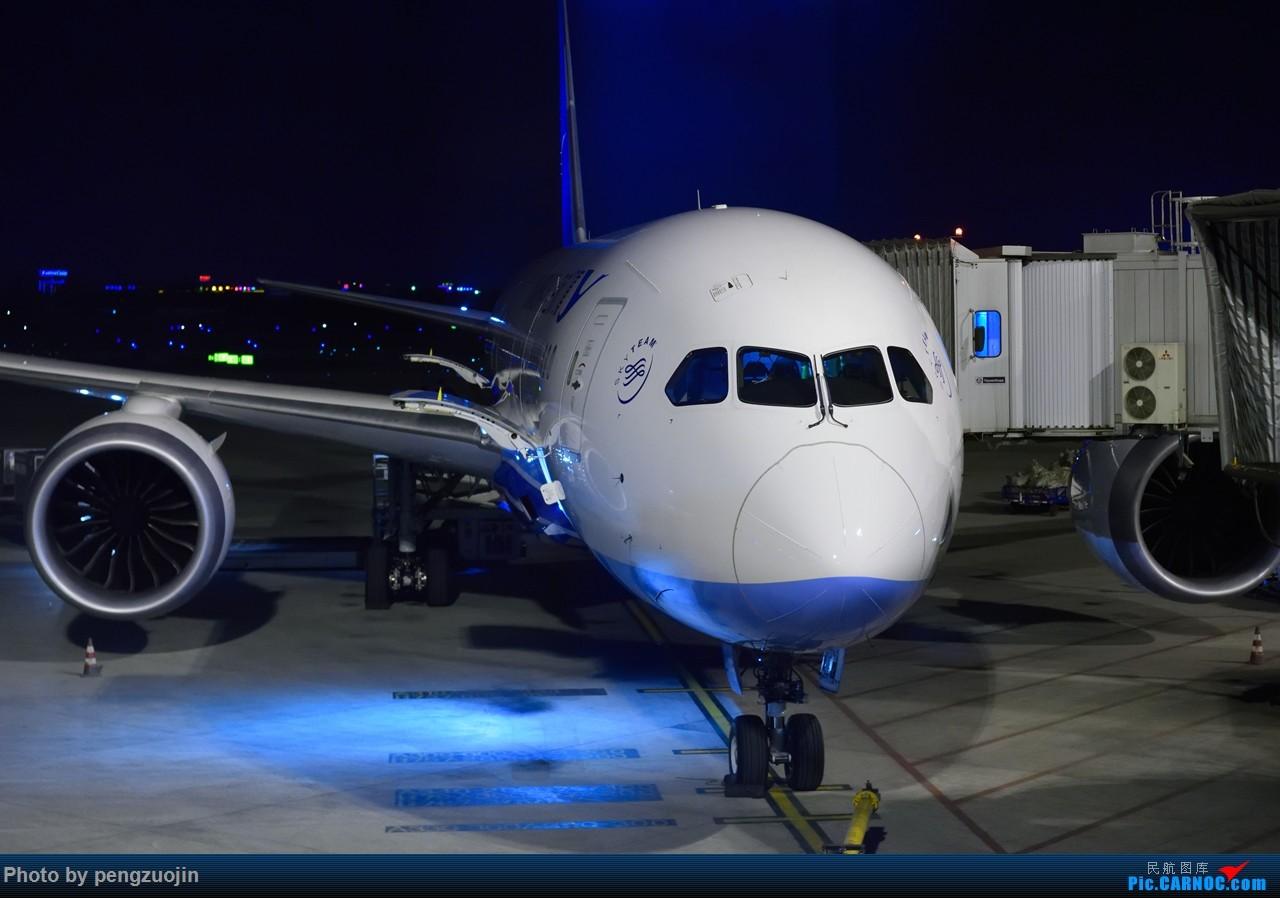 [原创]【成都空港缘分】双流夜拍厦航787 BOEING 787-8 B-2769 中国成都双流国际机场