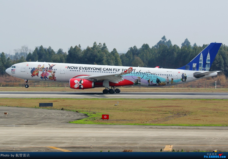 Re:[原创]CTU我又来了 AIRBUS A330-300 9M-XXF 中国成都双流国际机场