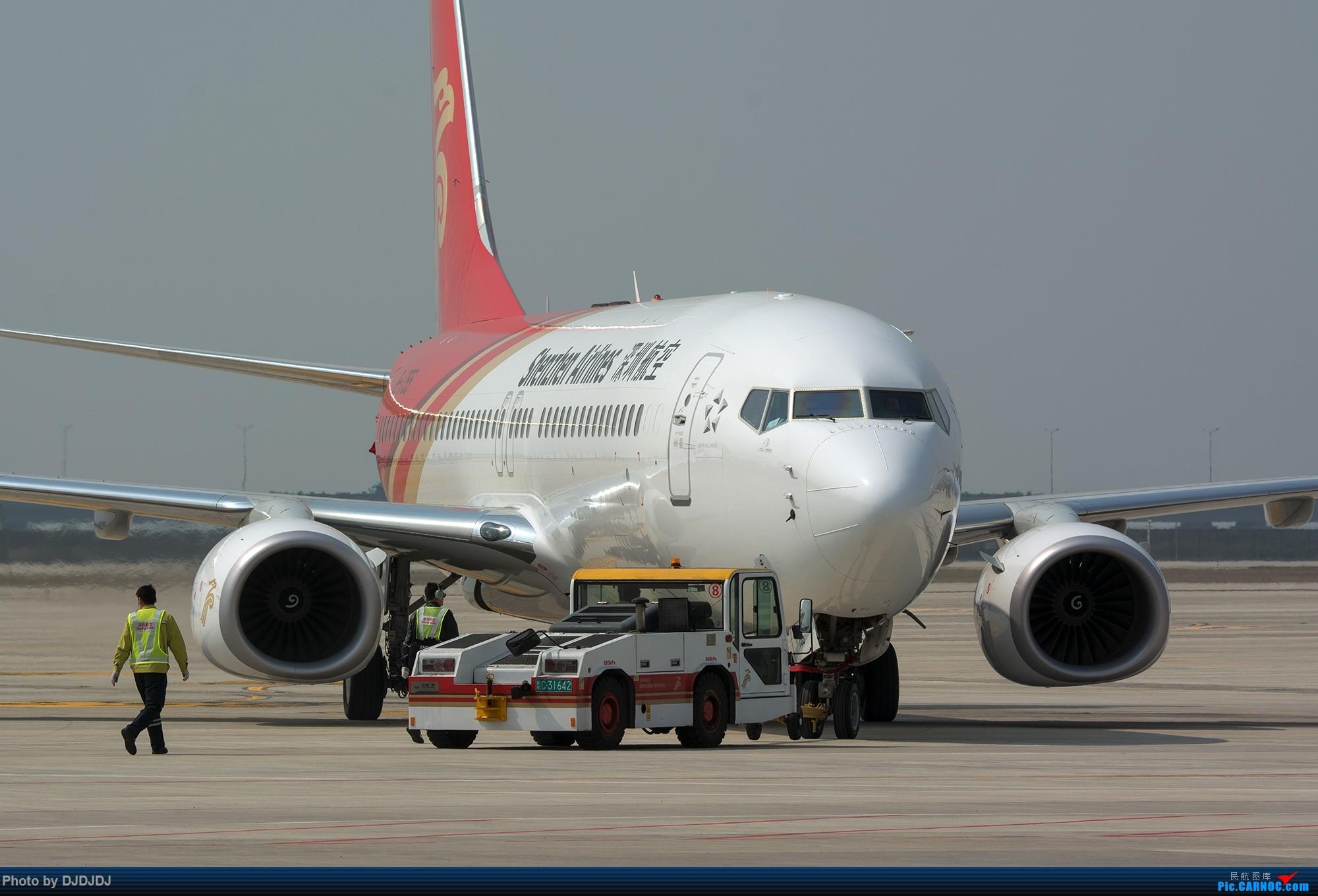 [原创]【BLDDQ--深圳打机队】保障1755 BOEING 737-800 B-1755 中国深圳宝安国际机场