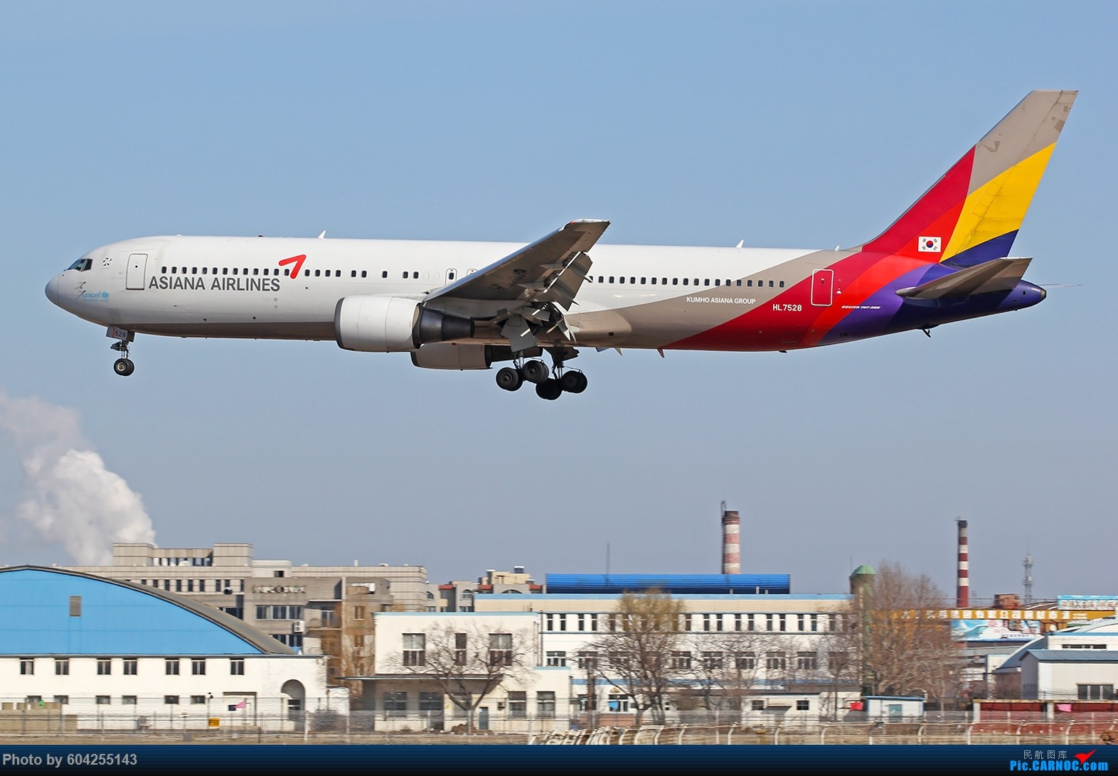 [原创]DLC….2015.02.27…...767锦集 BOEING 767-300 HL7528 中国大连周水子国际机场