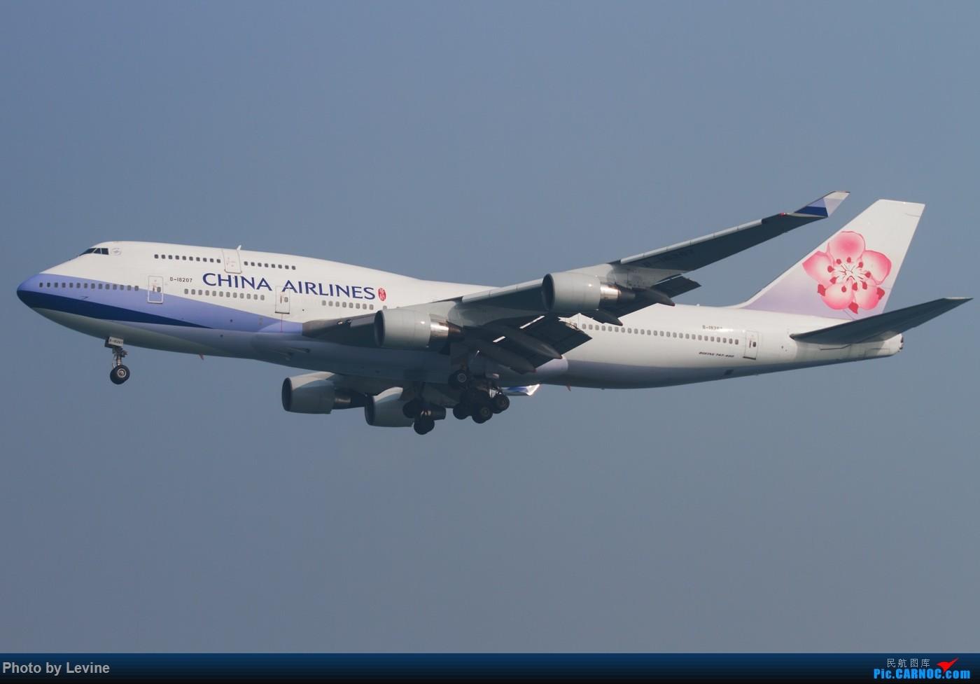 Re:[原创]◇ ■ ◇ ■ ◇ ■难得去一次香港却遇到大烂天◇ ■ ◇ ■ ◇ ■ BOEING 747-400 B-18207 中国香港赤鱲角国际机场